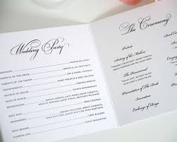 wedding programs endo re enhance dental co