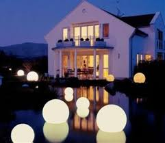 i these led glow balls for a large back yard or a pool at