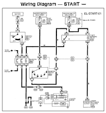 1997 infiniti qx4 wiring diagram and electrical system service and