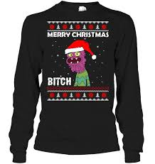 merry bitches sweater scary terry merry sweater shirt hoodie