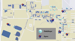 Cal State Map by