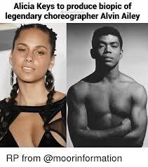 Alicia Keys Meme - alicia keys to produce biopic of legendary choreographer alvin ailey