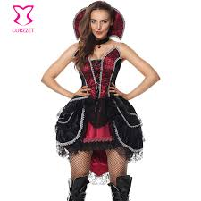 Victorian Halloween Costumes Women Buy Wholesale Victorian Vampire Costume China