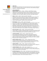 Sle Resume For Senior Graphic Designer transform graphic designer resume template doc also sle design