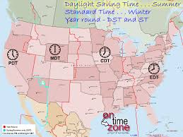 Map Of The Usa With States by Time Zone Map Of The United States For Roundtripticket Me