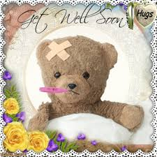 get well soon teddy get well soon teddy blingees get well