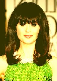 same haircut straight and curly 70s ponytail hairstyles zooey deschanel long hairstyle straight