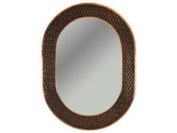 Bronze Bathroom Mirror Bathroom Ideas Patterned Rubbed Bronze Oval Bathroom Mirrors