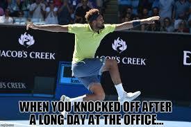 Tennis Memes - 2018 ao the meme game