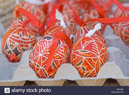 Decorating Easter Eggs Tradition traditional red bohemian easter eggs hand painted easter eggs in