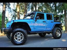 jeep wrangler turquoise for sale 2009 jeep wrangler unlimited x lifted 17