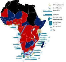 Sub Saharan Africa Map by Sub Saharan Africa Oil And Gas The Next 20 Years Saoga