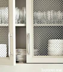 how to put chicken wire on cabinet doors chicken wire kitchen cabinets wire mesh cabinet doors kitchen with