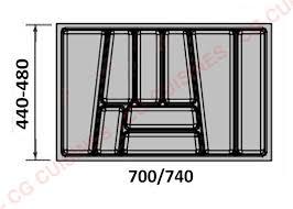 range couverts tiroir cuisine range couverts 80 achat vente de aménagements tiroirs pour cuisine