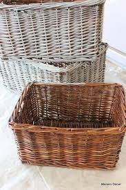 What To Put In Wedding Bathroom Basket Best 25 Wicker Baskets Ideas On Pinterest Storage Baskets