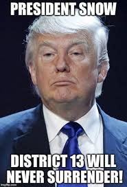 Hunger Games Memes Funny - orange is the new black funny president trump memes president