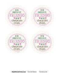 mason jar gift idea chocolate chip cookie jar club chica
