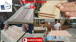 How To Make Your Own Kitchen Cabinet Doors How To Make Cabinet Doors Easy Youtube