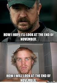 No Shave November Memes - no shave november aspirations by lrdofh8 meme center