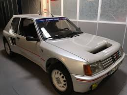 peugeot classic cars peugeot 205 turbo 16 of 1985 classic cars for sale