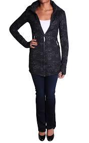 bench gogetter short funnel neck jacket in black designer