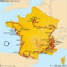 Map Of Bordeaux France by 1972 Tour De France Wikipedia