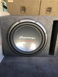 pioneer photo box pioneer 12 2000w chion pro car power subwoofer dvc 4 ohm sub