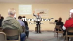 sermon on thankfulness the power of thanksgiving by maclean