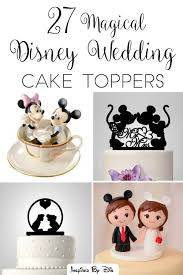wedding cake toppers theme 27 magical disney wedding cake toppers disney weddings disney