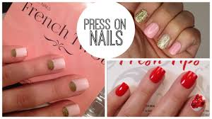 press on nails favorites how to apply and remove without damage