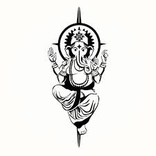 22 simple ganesha tattoos