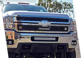 20 In Light Bar Auxbeam Chevrolet Silverado Led Lighting Modifications