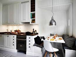kitchen 52 small breakfast nook ideas wooden dining table bay
