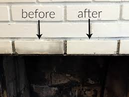 How To Clean The Walls how to clean a fireplace firebox friday five the diy bungalow