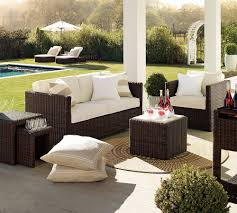 Small Patio Chair Furniture Ideas Wicker Patio Furniture Sets With Small Square