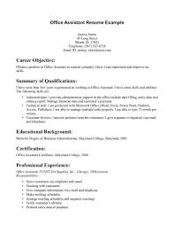 Resume Samples Executive Assistant Administrative Assistant Resume Objectives Resume Examples Admin