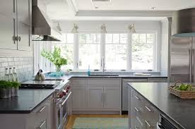 grey kitchen cabinets and black countertops light grey kitchen cabinets contemporary kitchen
