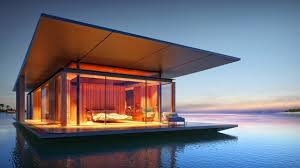 amazing house building function building a floating home youtube