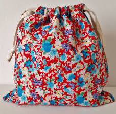 drawstring gift bags liberty applique drawstring gift bag