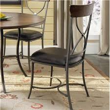 hillsdale cameron dining table hillsdale cameron 5 piece metal ring dining set with x back chairs
