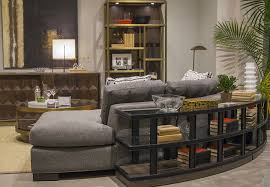 Curved Sofa Table 4 Design Trends We From High Point Market