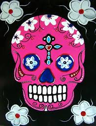 pink sugar skull sunday september 24 2017 painting with a twist