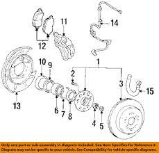 lexus ls400 wheels for sale lexus toyota oem 93 00 ls400 brake rear wheel bearing seal