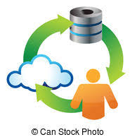 cloud storage glossy app icons cloud storage applications