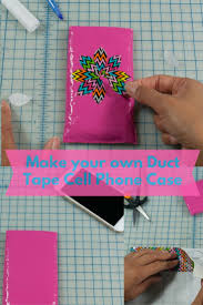 make your own duct tape cell phone case