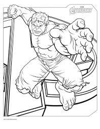 coloring avengers captain america superhero coloring page free