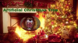 what was the first artificial christmas tree made of youtube
