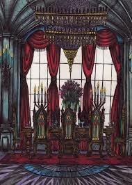 Castle Dining Room By Niminsin On DeviantArt - Castle dining room