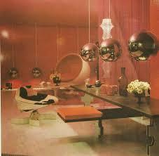 60s Decor 49 Best U002760s U0026 U002770s Interiors Images On Pinterest Futuristic