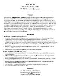 Resume Internship Sample by Resume Objectives For Internships Legal Intern Resume Objective